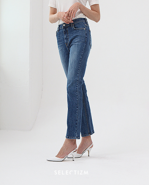 [데님 기획전] SLIM STRAIGHT JEANS / BLUE