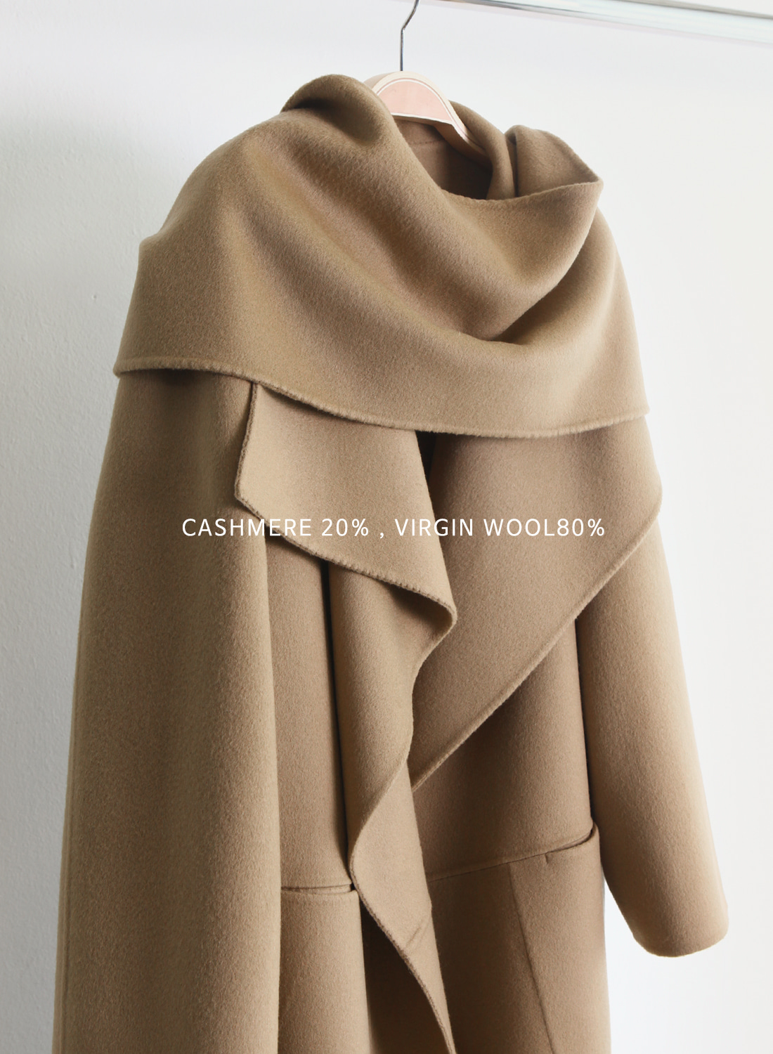 COV CASHMERE HAND MADE COAT