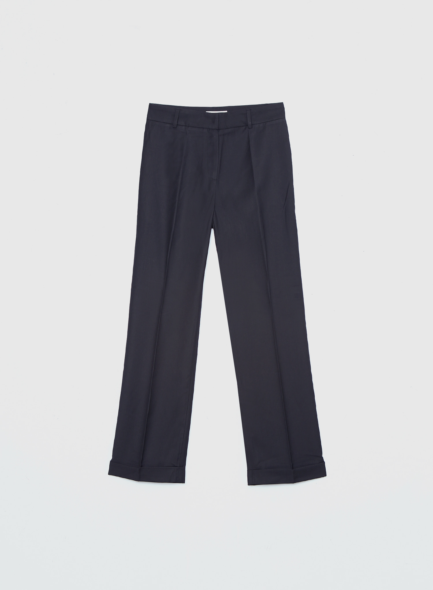 WOOL BLEND DOUBLE SLACKS