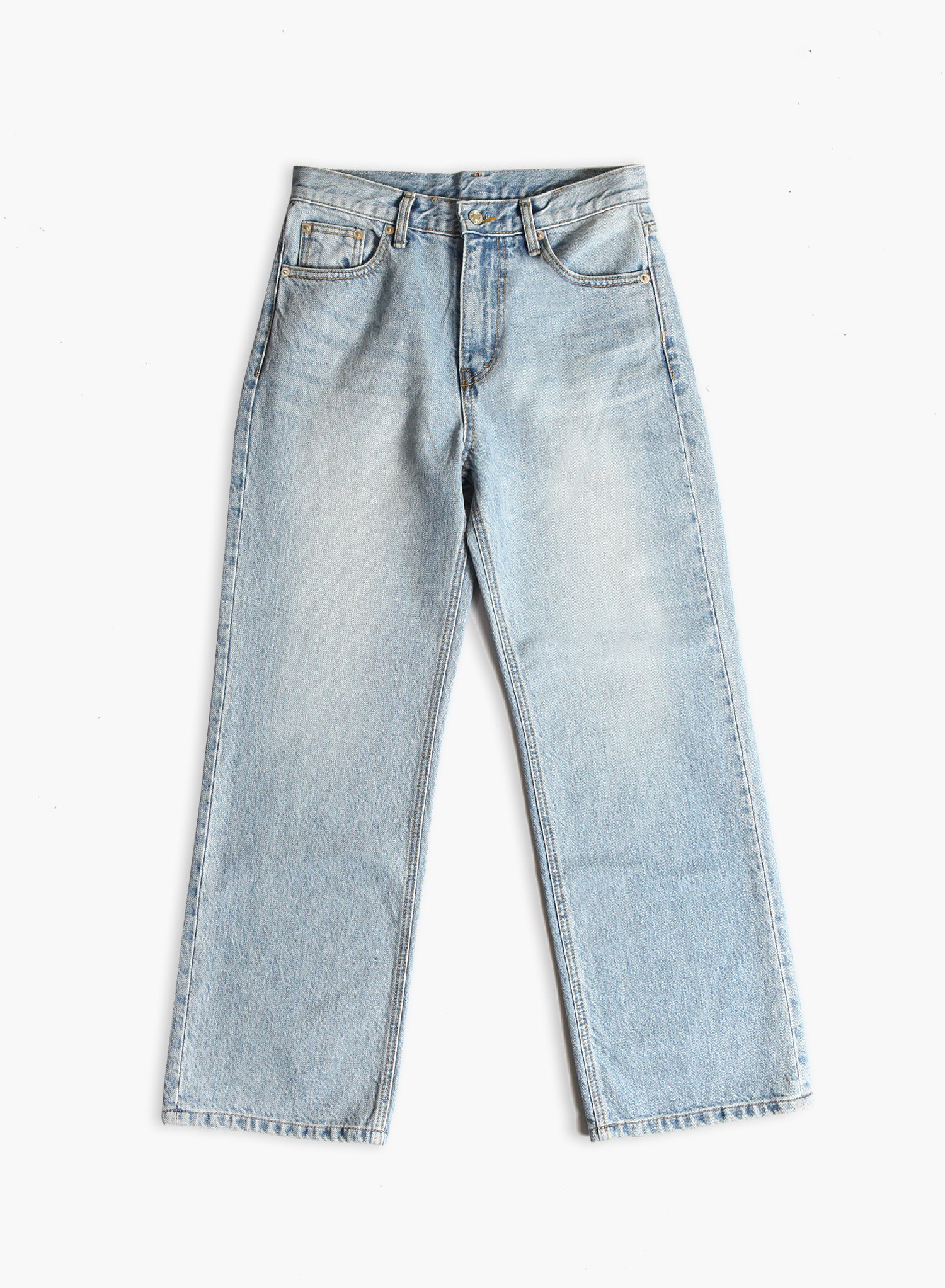 [SEASON OFF Event 50%↓] WIDE JEANS / LIGHT BLUE