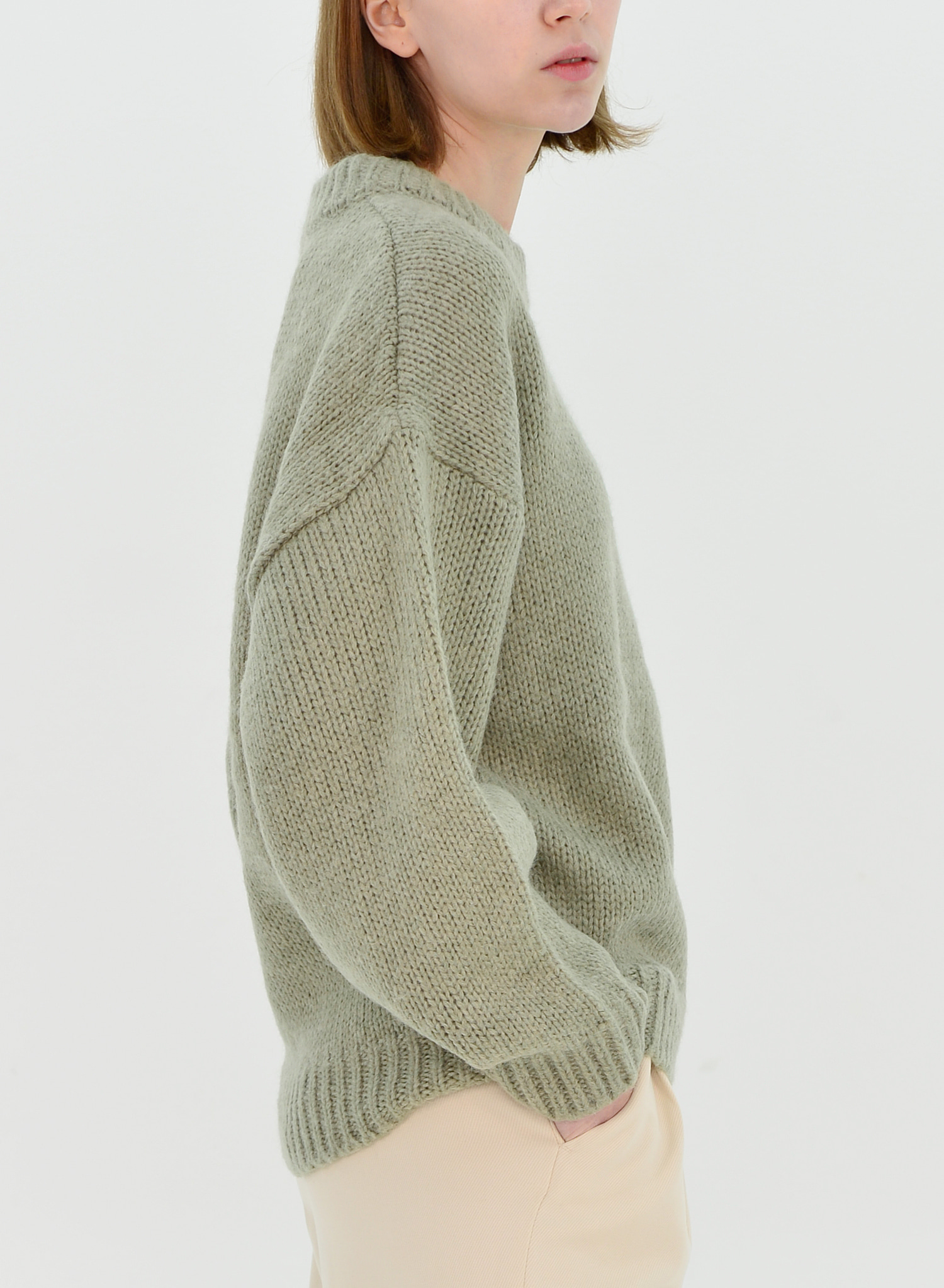 [SEASON OFF Event 30%↓] ALPACA LOOSE FIT KNIT