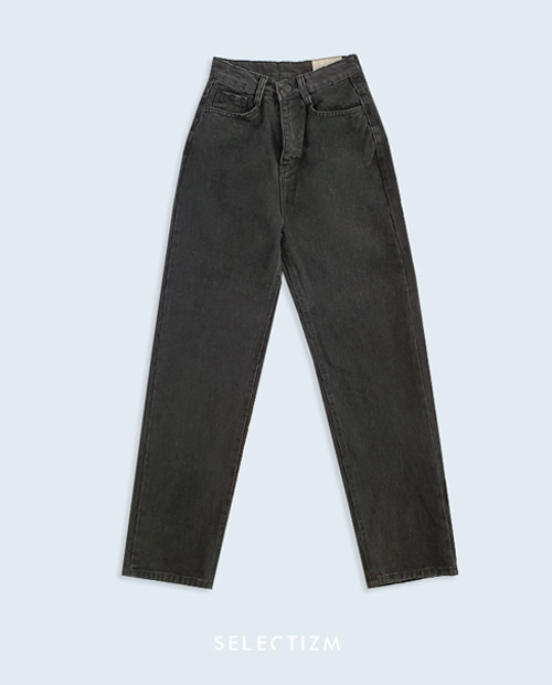 [데님 기획전] NEWTRO' Black washed JEAN