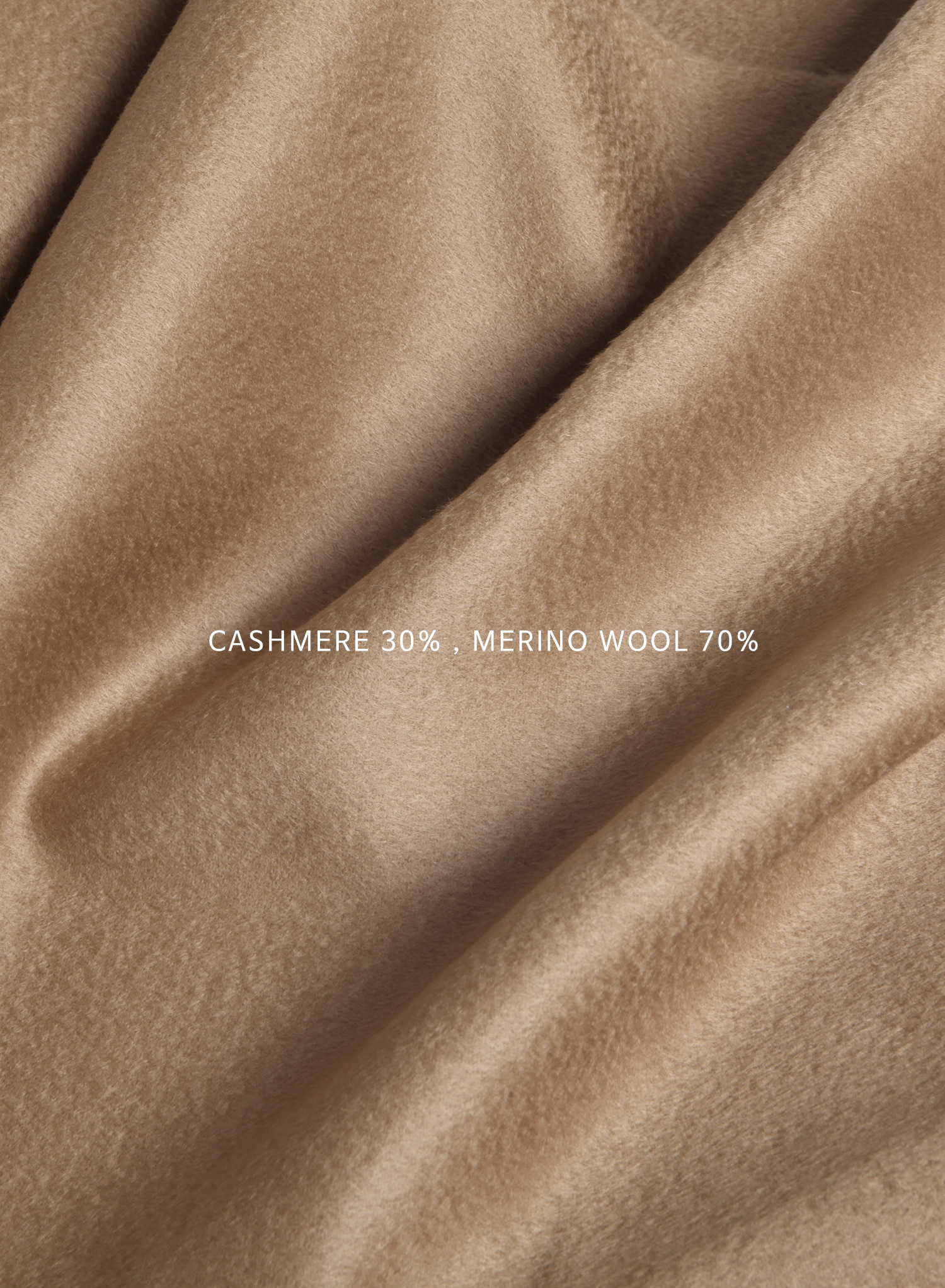 CASHMERE TRENCH WRAP COAT