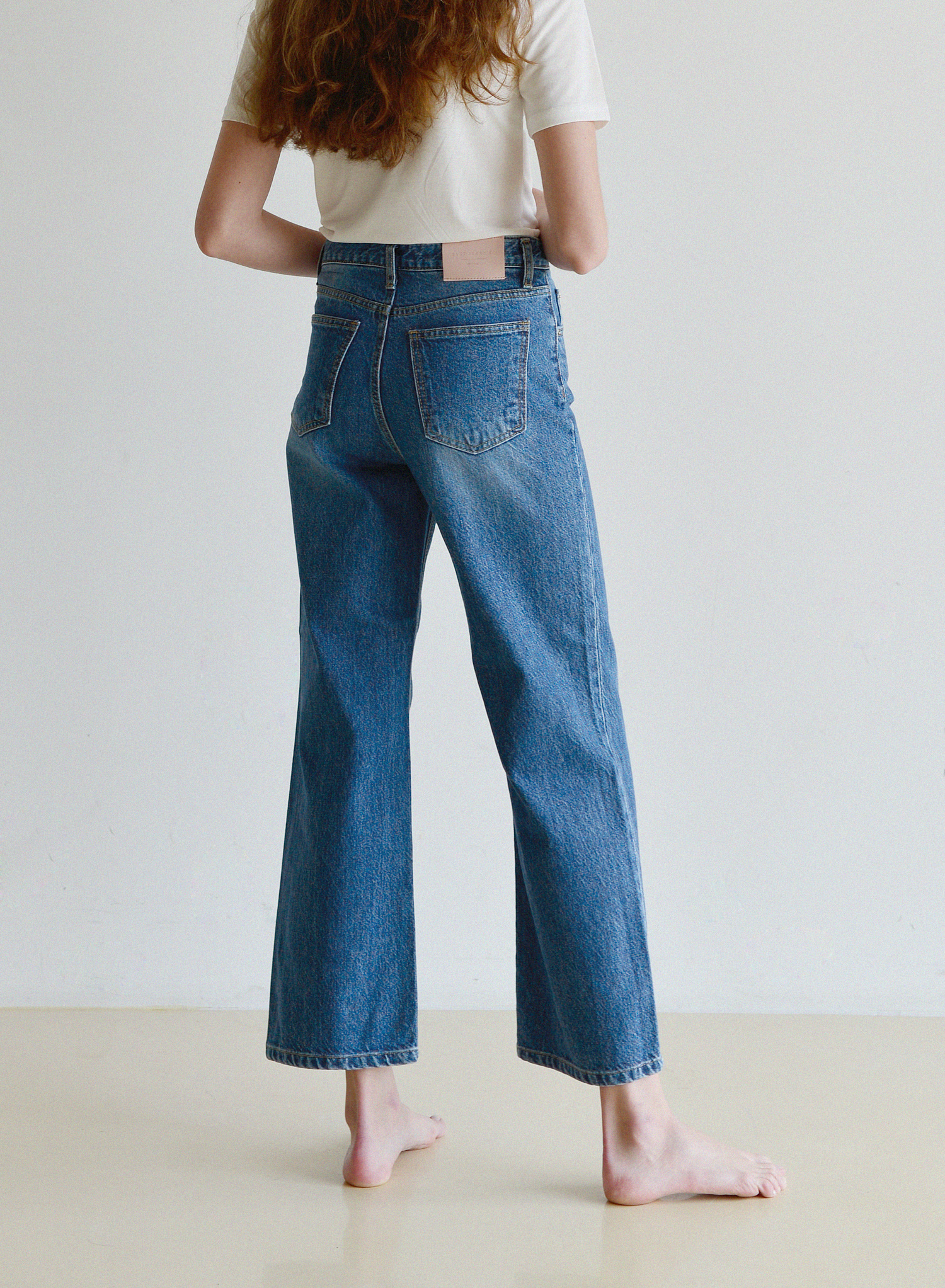 [SEASON OFF Event 50%↓] WIDE JEANS / BLUE