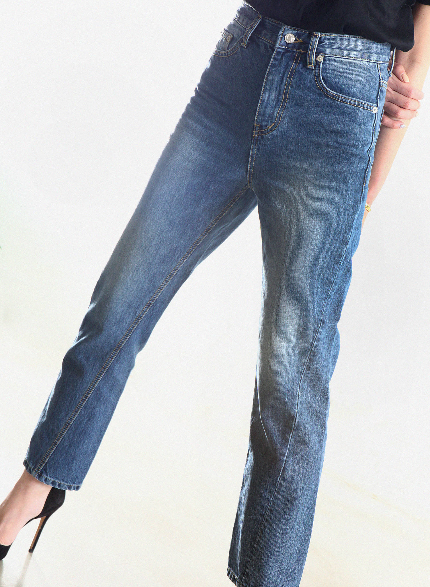 [SEASON OFF Event 50%↓] TWIST JEANS / BLUE