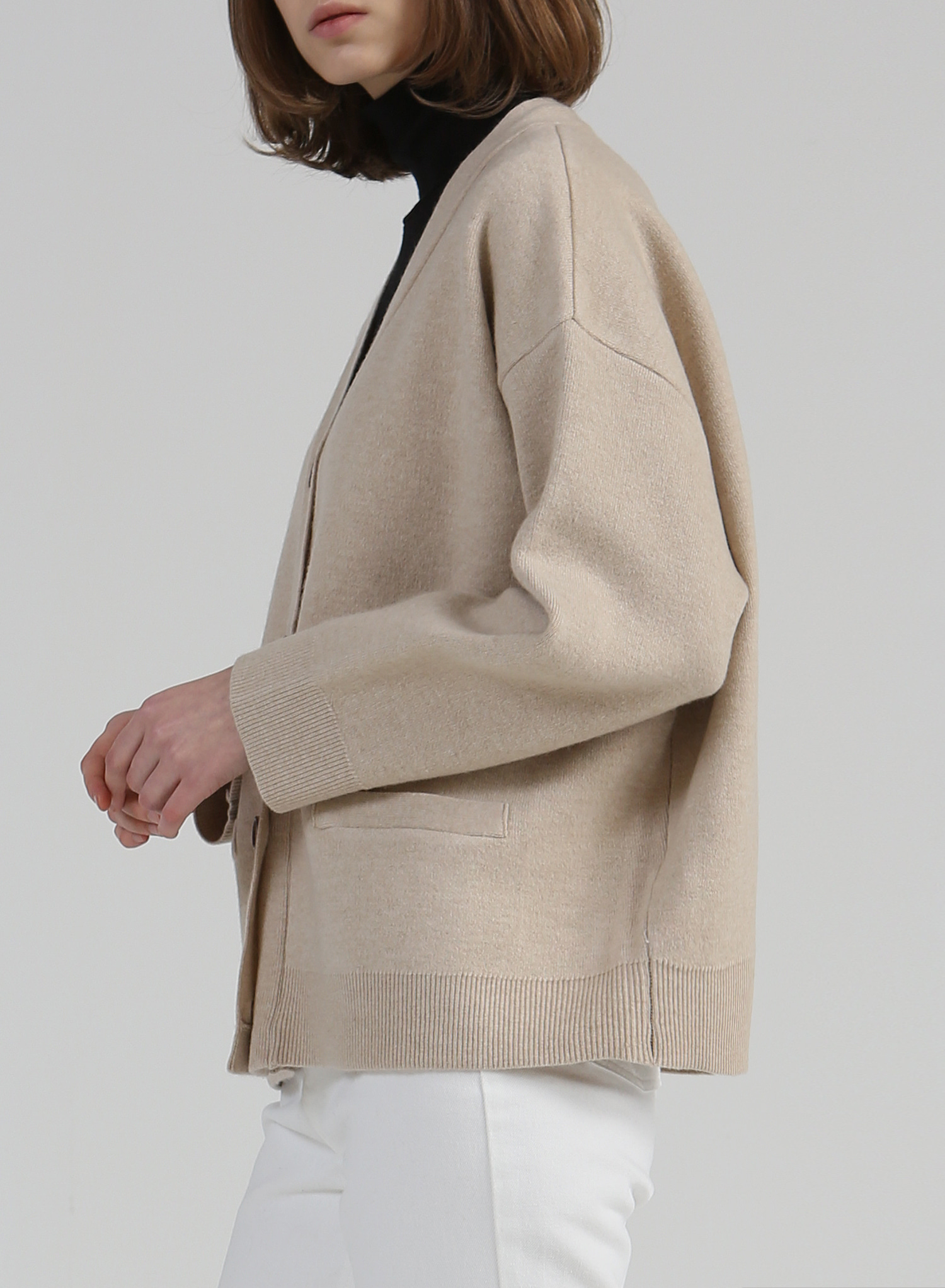 [SEASON OFF Event 50%↓] VINCI CASHMERE CARDIGAN
