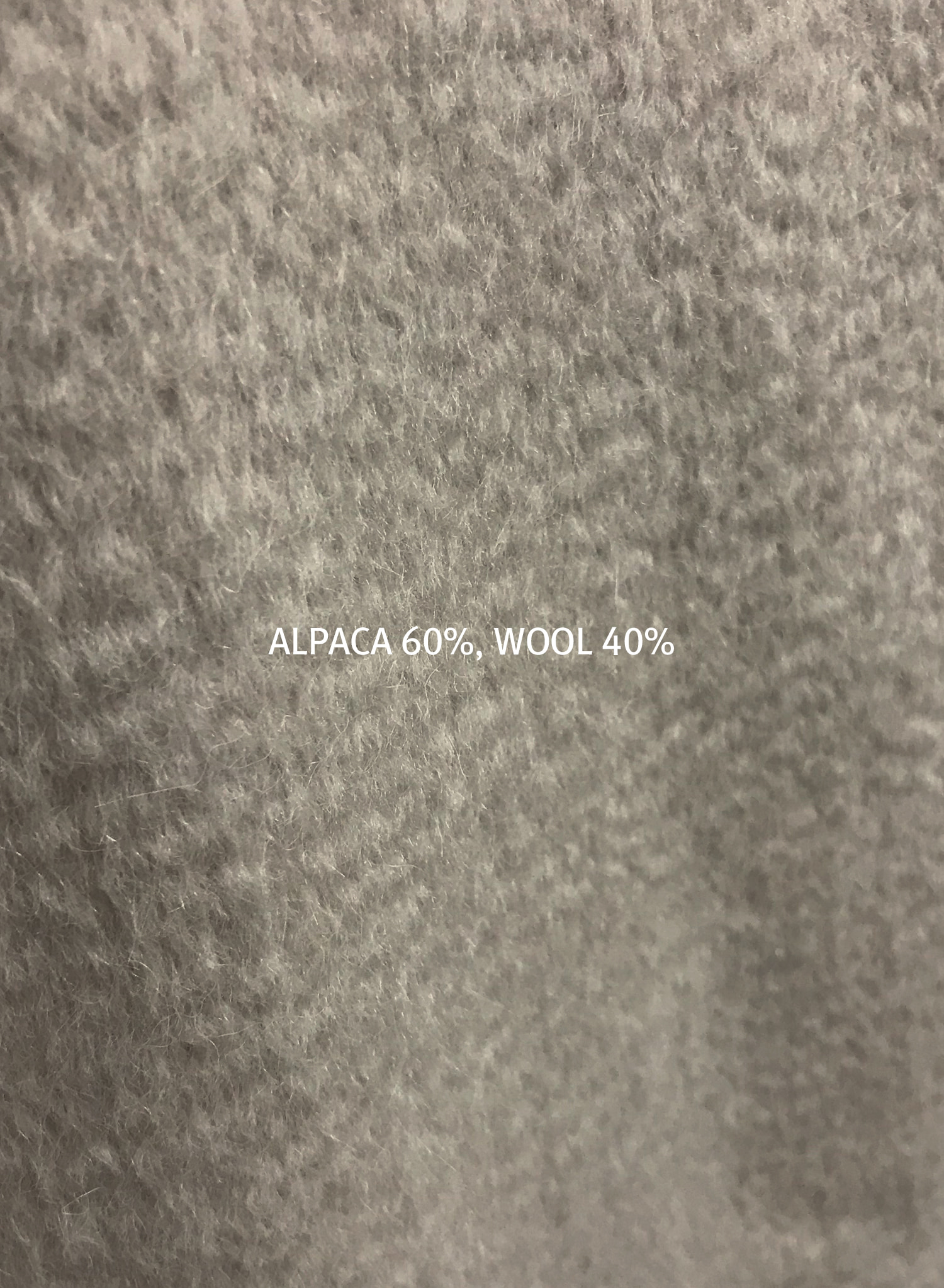 ALPACA LOOSE JACKET
